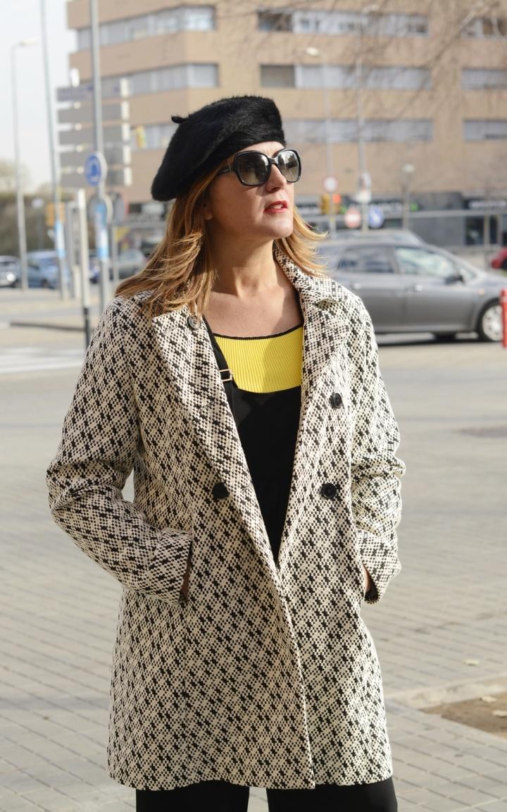 Cuida tu imagen, look amarillo, peto, overall, jumpsuit, furla, pompones, tendencias, trends, yellow 5