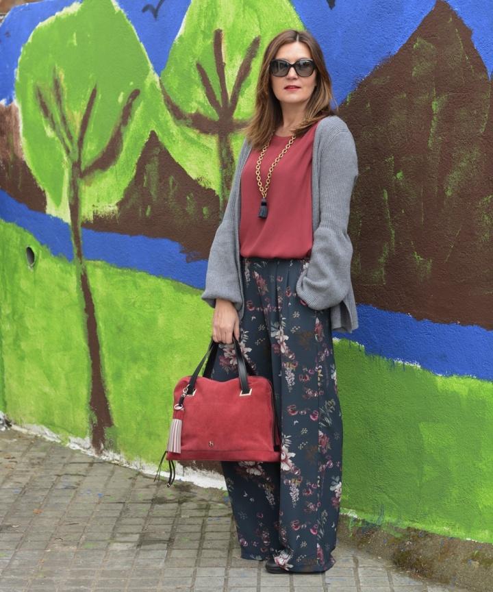 Cuidatuimagen, tendencias, trends, pantalones palazzo, frambuesa, polcamoda, petuscoheritage