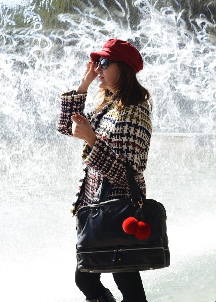 Cuidatuimagen, tendencis, primavera, tweed, chaqueta, Anna Mora 2