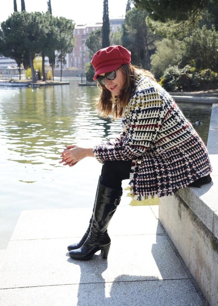 Cuidatuimagen, tendencis, primavera, tweed, chaqueta, Anna Mora 3