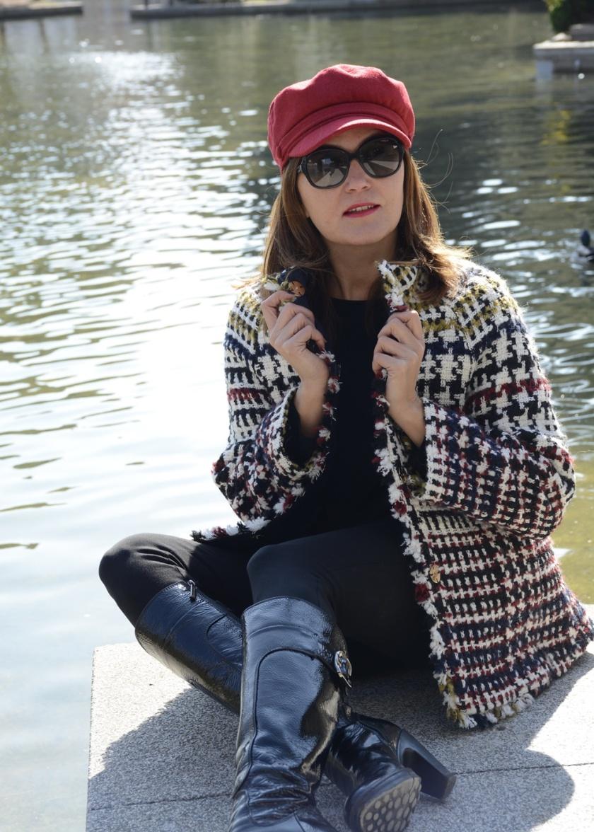 Cuidatuimagen, tendencis, primavera, tweed, chaqueta, Anna Mora 4