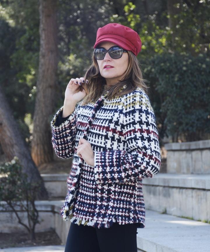 Cuidatuimagen, tendencis, primavera, tweed, chaqueta, Anna Mora 5
