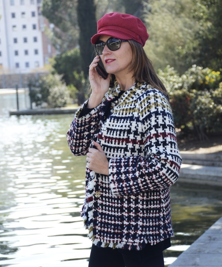 Cuidatuimagen, tendencis, primavera, tweed, chaqueta, Anna Mora 6