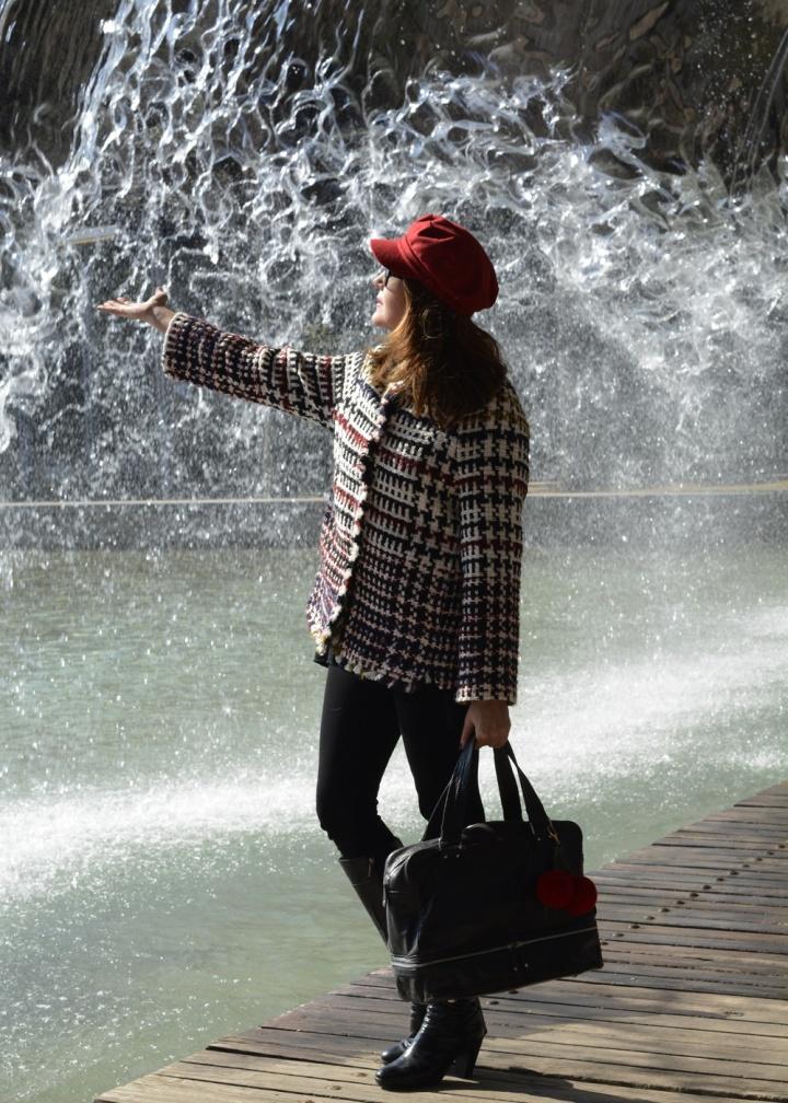 Cuidatuimagen, tendencis, primavera, tweed, chaqueta, Anna Mora