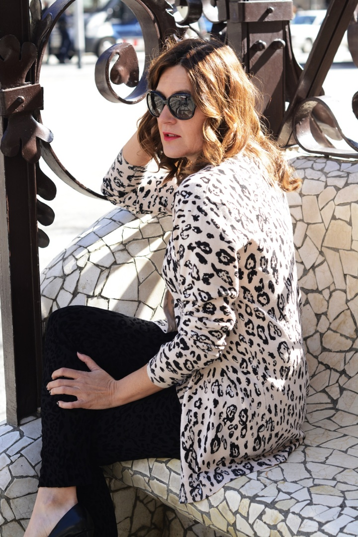 Cuida tu imagen, Anna Mora Brunella, Twin set, print animal, primavera, trends, Paseo de gracia, Barcelona 3