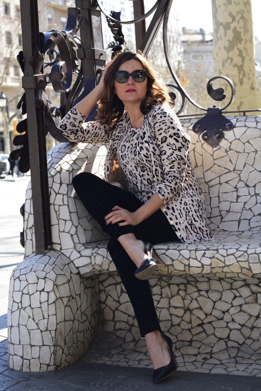 Cuida tu imagen, Anna Mora Brunella, Twin set, print animal, primavera, trends, Paseo de gracia, Barcelona