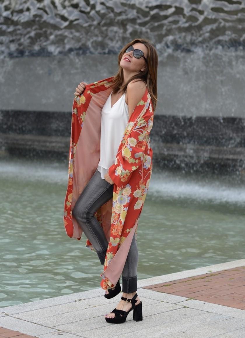 Cuida tu imagen, summer looks, kimonos, naranja, zara, asesora de imagen 6