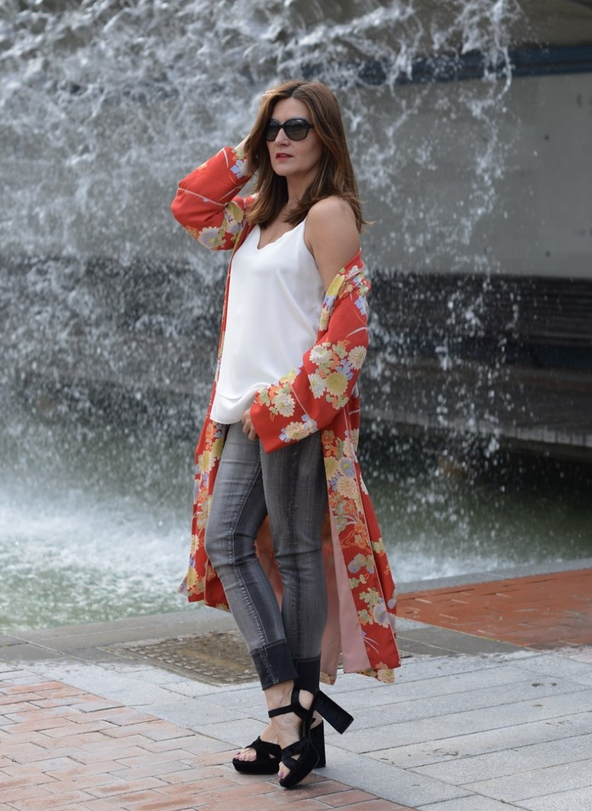Cuida tu imagen, summer looks, kimonos, naranja, zara, asesora de imagen 8