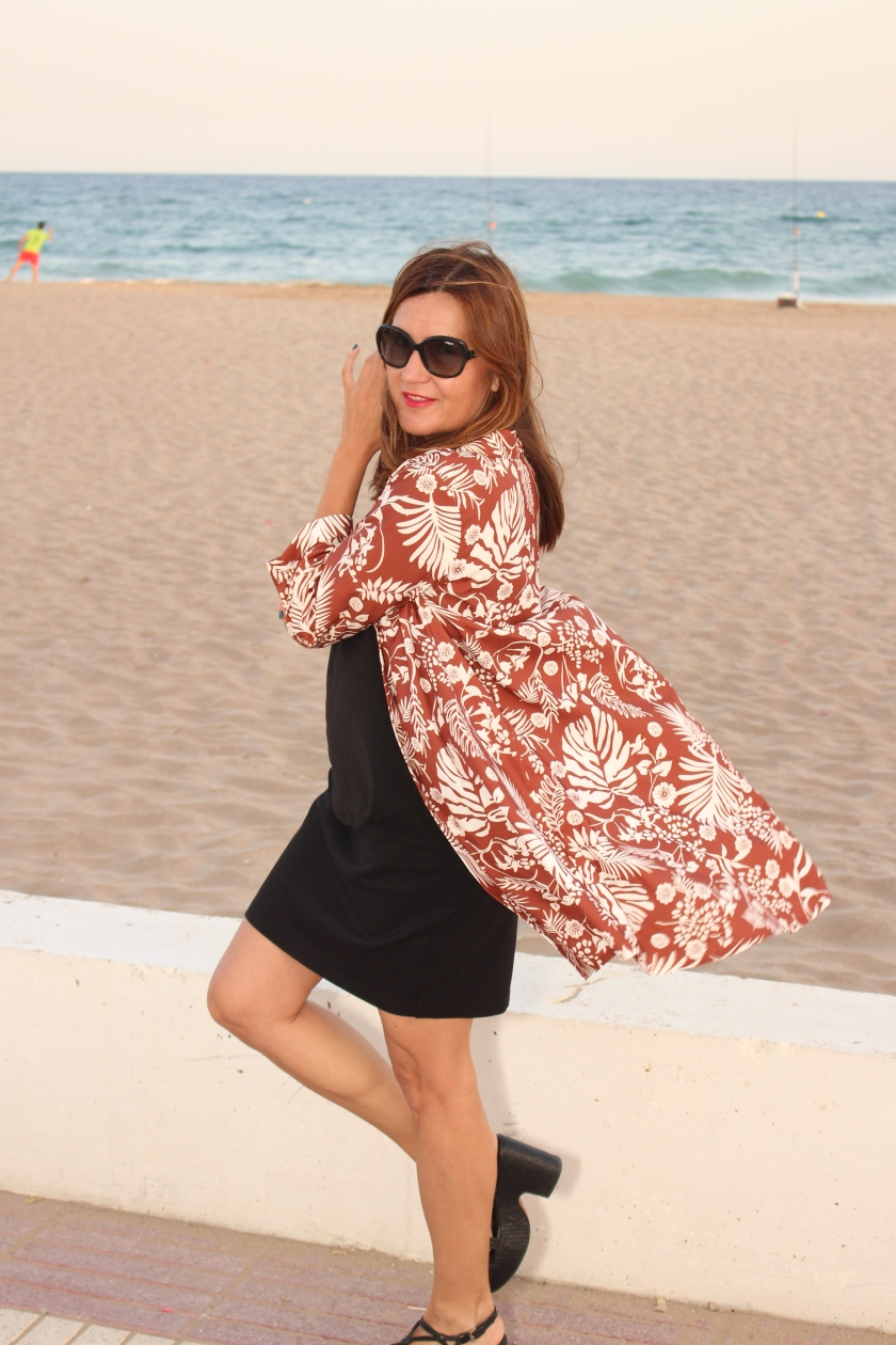 Cuida tu imagen. Kimono, tropical vibes, Zaful, summer looks 2