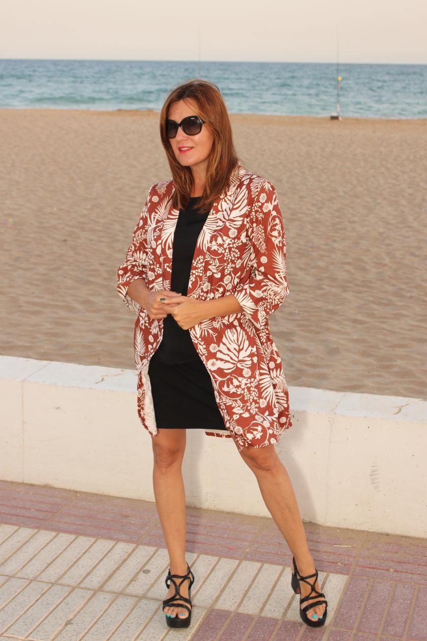 Cuida tu imagen. Kimono, tropical vibes, Zaful, summer looks 4