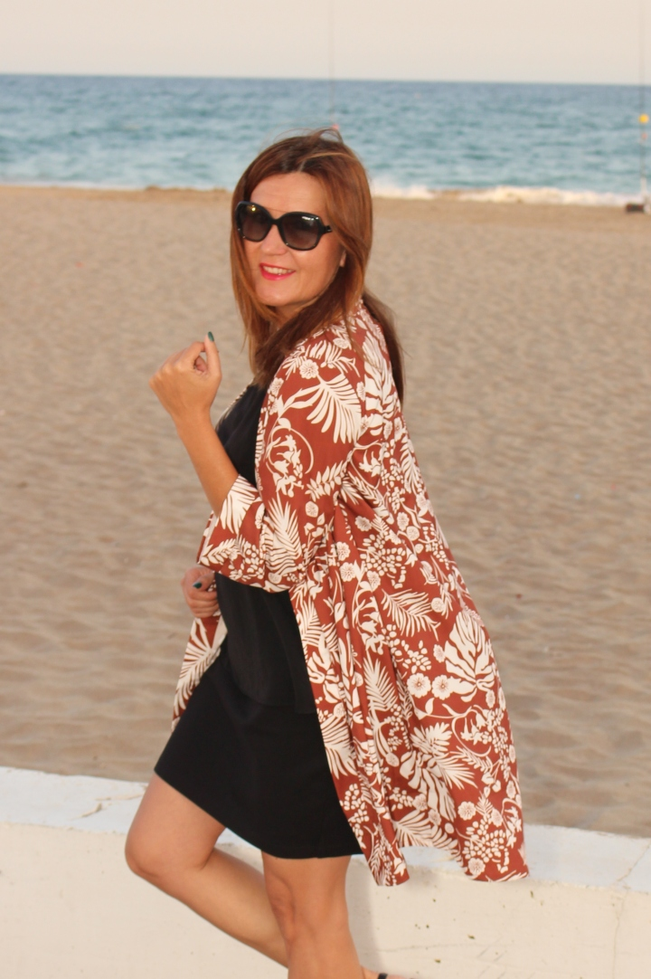 Cuida tu imagen. Kimono, tropical vibes, Zaful, summer looks 6