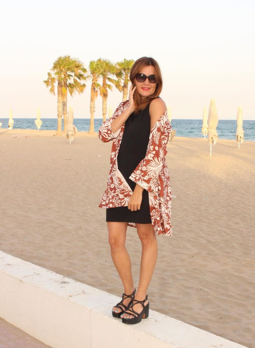 Cuida tu imagen. Kimono, tropical vibes, Zaful, summer looks